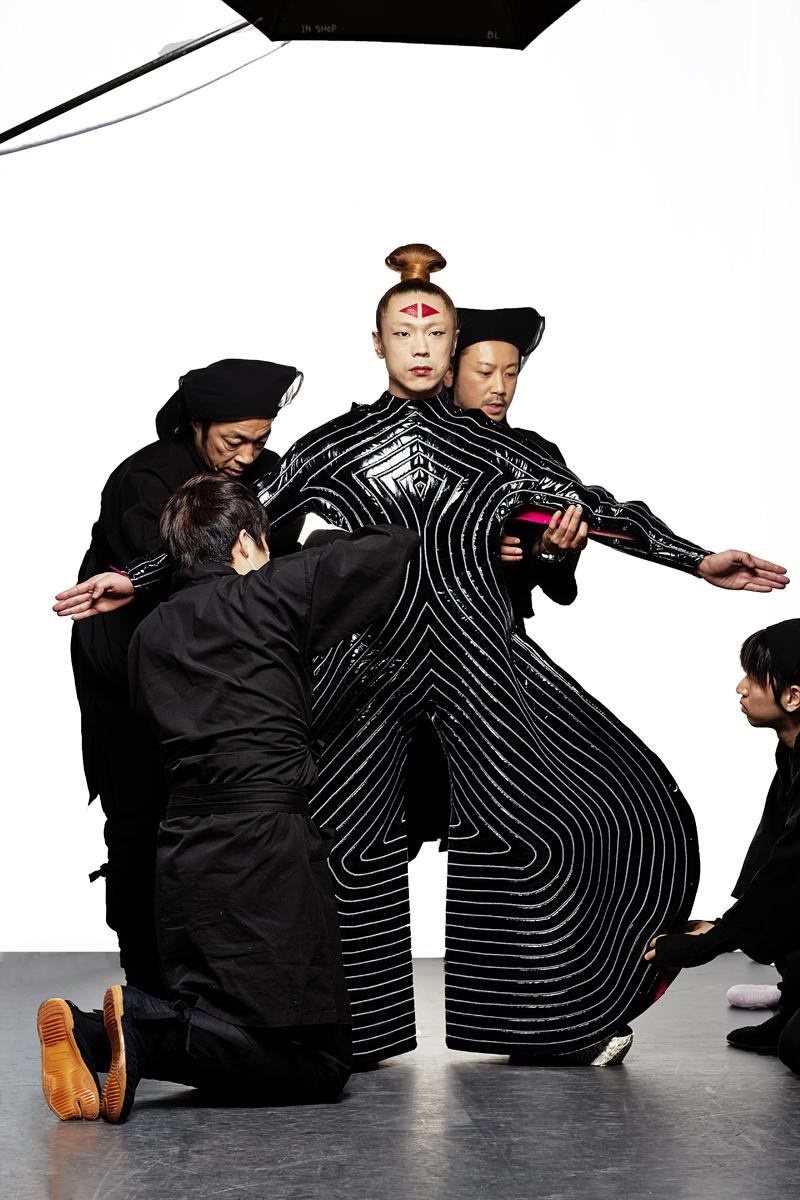 Kansai Yamamoto Fashion In Motion: 'Kansai Yamamoto Collection David Bowie Costume' By Clive