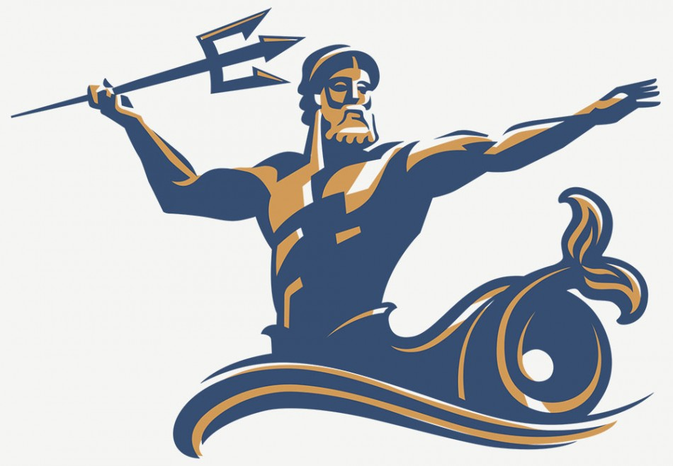 Udsd Tritons Logo By Tracy Sabin Illustration From